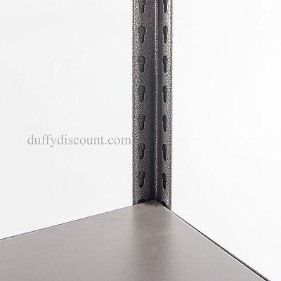 Concealed Rivet Industrial Boltless Shelving 1830x1219x610mm 300kg UDL 5 Levels 7
