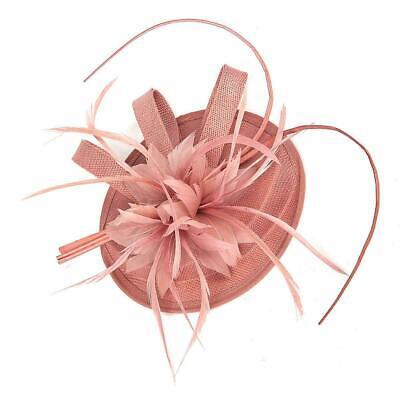 New Large Headband Aliceband Hat Fascinator Wedding Ladies Day Races Royal Ascot 11
