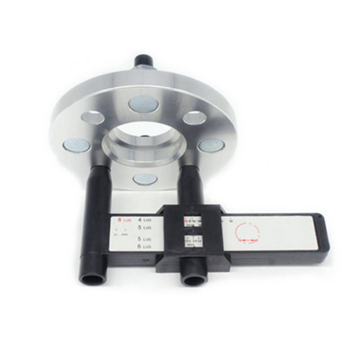 4 5 6 8 Holes Lug Wheel Bolt Pattern Gauge Measuring Measurement Hand Tool dedj