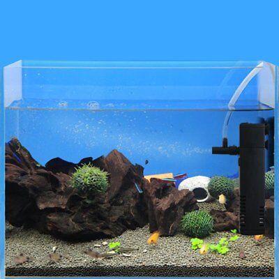 Small Internal Aquarium Filter Water Pump Spray Air Tube Fish Tank Filtration 4