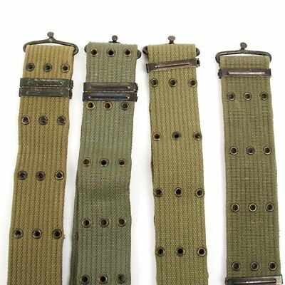 Original Greek Army Issue U.S. Style M1956 Individual Equipment Pistol Belt 3