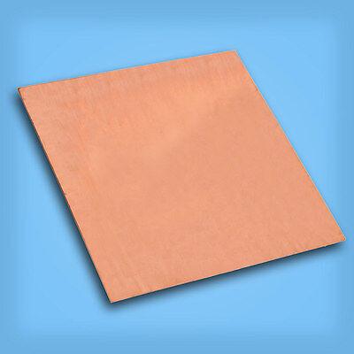 1PC 99.99% Pure Copper Cu Metal Sheet Plate 0.8mm*100mm*100mm 4
