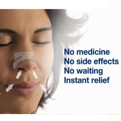 Anti Snore & Nasal Congestion 'Breathe Better' Nasal Strips 30 Strips + 5 Free