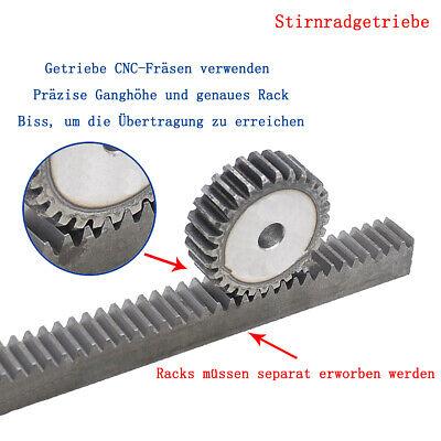 24 Zähne ohne Nabe Stirnzahnrad aus Stahl C45 Modul 1.5 Qualität 8-9