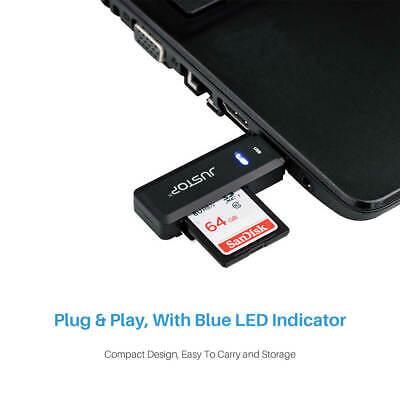 USB 3.0 SD Memory Card Reader High Speed SDHC SDXC MMC Micro SD Mobile T-FLASH 6