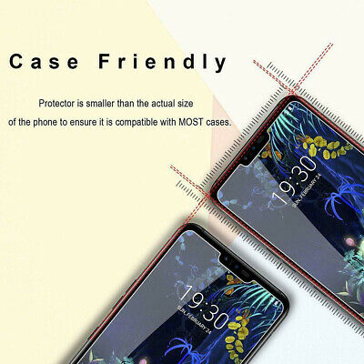 3Pcs Tempered Glass Screen Protector For Huawei P Smart P9 P10 P20 Pro P30 Lite 7