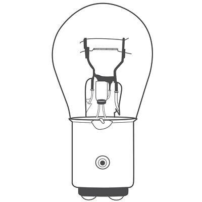10x BREHMA P21/5W 12V 21/5W Kugel Lampe BAY15d Autolampen Birnen 4