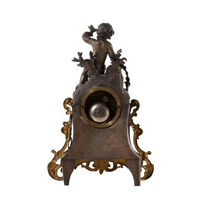Mantel Clock 1900's 5