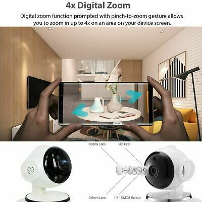 1080P HD Wireless IP Camera Home Security Smart WiFi Audio CCTV Camera UK 7