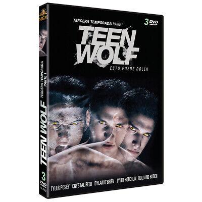 Pelicula Dvd Pack Serie Tv Teen Wolf Temporadas 3Parte1+T4+T5 Precintadas 6