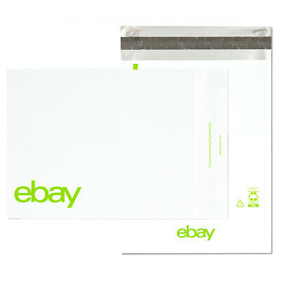 "eBay-Branded Polymailer Red Green & Blue 9"" x 11.5"" (No Padding) 3"