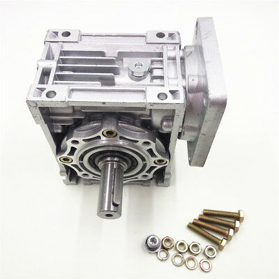 NMRV040 Worm Gearbox Geared Speed Reducer 14mm Input for 60/80/86/90 Motor 4