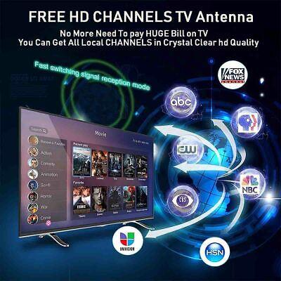 980 Mile Range Antenna TV Digital HD Skywire 4K Antena HDTV 1080P Amplifier Fox 11