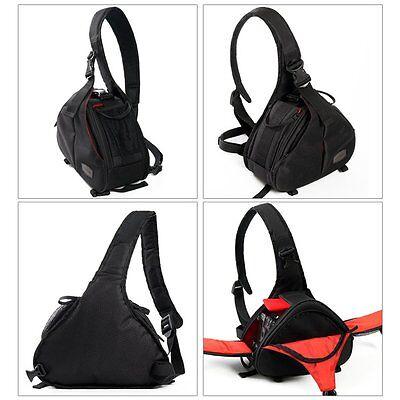 New Canon Nikon Sony Camera Backpack Sling Shoulder Bag Case Shockproof DSLR SLR 5