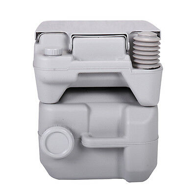 5 Gallon 20L Portable Toilet Flush Commode Camping Outdoor/Indoor Commode Potty 6