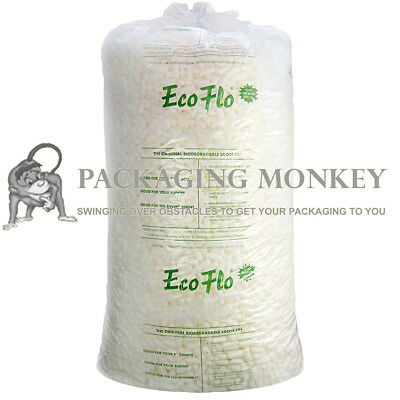 Ecoflo Quality Biodegradable Loose Void Fill Packing Peanuts *ALL QUANTITIES* 2