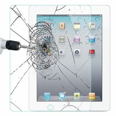2X Screen Protector Tempered Glass for Apple iPad ALL MODEL Ultra Clear Premium 8