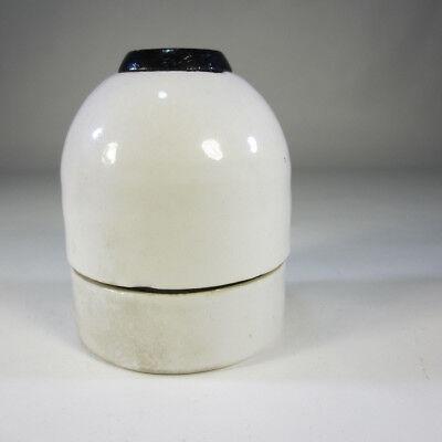 1 von 7 Art Deco E40 Keramik Fassung Industrielampe Antik Fabriklampe Lagerfund