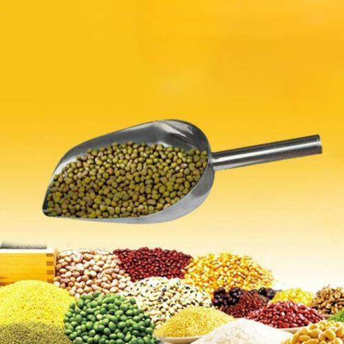 10X Pelle à grains de céréales en vrac en acier inoxydable 5