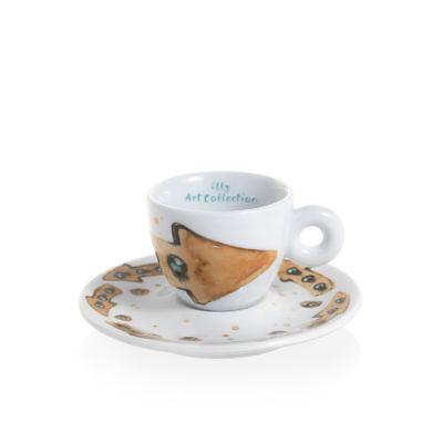 ILLY Collection 2018 MAX PETRONE 6 Tazzine Espresso Tazze Numerate e Firmate 6