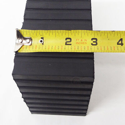 """Rotary Lift 3"""" Rubber Stack Blocks Auto Lift or Rolling Jack FJ2428 - Set of 4 6"""