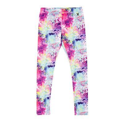 Girls Hurley Sublimation Leggings Size L 152-158Cm (12-13 Years) Multicolour 2