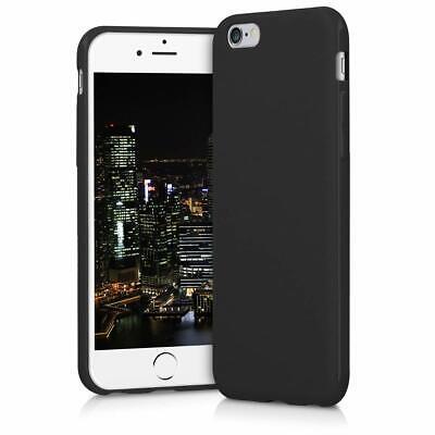Cover Custodia + Pellicola Vetro Temperato Per Iphone 6/6S 7/8 X/Xs  Nero Opaco 6