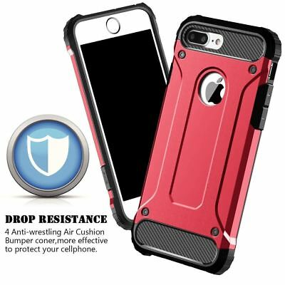 Hybrid Armor Shockproof Rugged Bumper Case For Apple iPhone 10 X 8 7 Plus 6s 5s 5