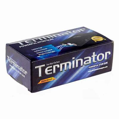Terminator Stun Gun Max Power Mini Rechargeable Police Flashlight Stun Gun 5