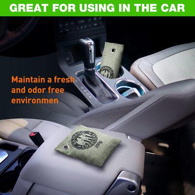 8PCS Bamboo Charcoal Air Purifying Bag Nature Home Car Freshener Odor Deodorant