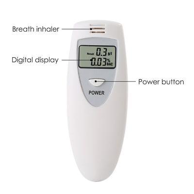 Brand New Portable MINI Digital LCD Alcohol Breath Tester Analyzer Breathalyzer 6