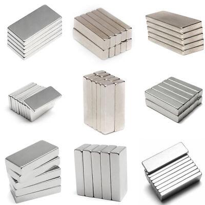 5~50x Extrem starke Neodym Quader Block Magnete eckig Größe und Anzahl wählbar 2