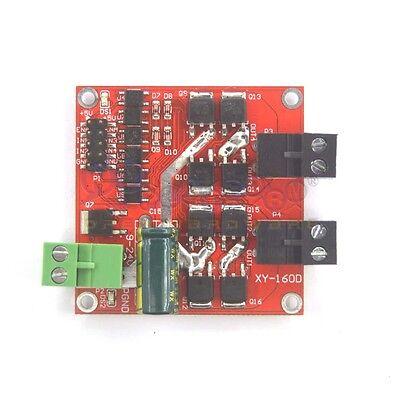 7A 160W Dual Motor Drive Module DC 12V/24V PWM H-bridge L298 Logic Control Board 2