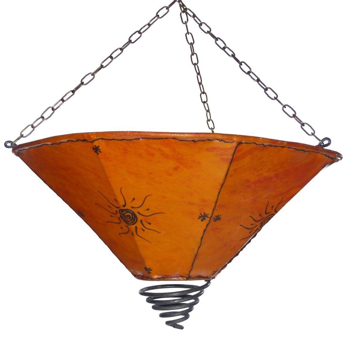Orientalische Lampe Sonne Hängelampe Deckenlampe Marokkanische Wandleuchte D55cm