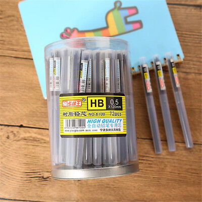 2~10x Tubes Black Lead Refills 0.5/0.7mm Case For Automatic Mechanical Pencil 3
