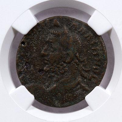Ionia, Isl. Samos AE25 of Gallienus Alexander Pasha NGC VF Story Vault SKU47719 3