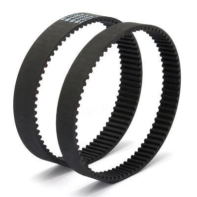 HTD5M fermer Timing Belt courroie en caoutchouc 15mm largeur 225~500mm périmètre 2