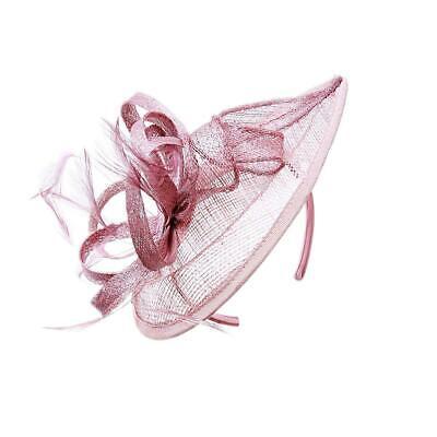 New Large Headband Aliceband Hat Fascinator Wedding Ladies Day Races Royal Ascot 4