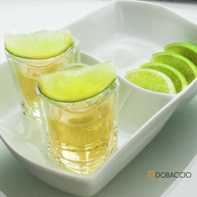 Square Shot Glasses Cube Shooting Drinking Glass Tequila Vodka Whiskey Party Cup 4