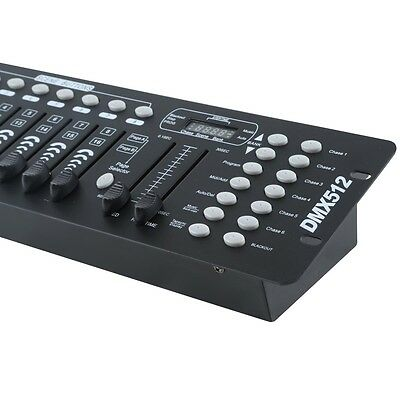 192 Channels DMX512 Controller Console For Stage Light Party DJ Laser Operator 4