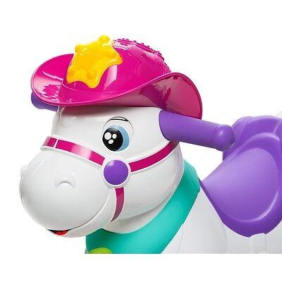 Cavalluccio Dondolo Chicco.Giochi Chicco Miss Baby Rodeo Cavalluccio Con Ruote Cavallo Dondolo Interattivo