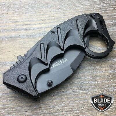 """8"""" Tac-Force Spring Open Assisted Folding Tactical Pocket Knife Karambit Claw 3"""