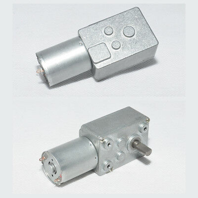 DC6V 12V 24V 0.6-200RPM Micro Worm Gear Reducer Motor with Metal Gearbox 32GZ370 6