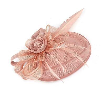 New Large Headband Aliceband Hat Fascinator Wedding Ladies Day Races Royal Ascot 8