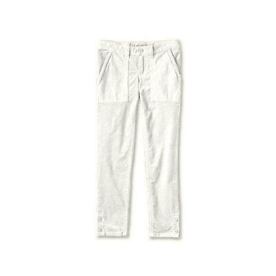 LANDS END Girls Corduroy Trousers Pencil Cord Adjustable Waist 5-6 6-7 9-10 Year 4