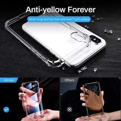 Antichoc Bumper Silicone Coque Pour iPhone XS Max 2018 XR X 8 Plus 7 Plus 6 s 11