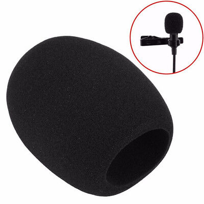 Pop Filter Windscreen Microphone Sponge Foam Cover For Blue Yeti Pro Mic Black 3