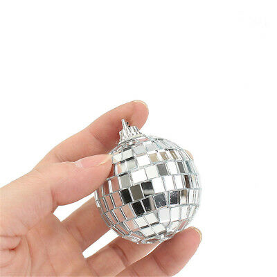 Mirror Glass Ball Disco DJ Stage Lighting Effect Party Home Decor Xmas 4-10cm 9