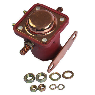 New 12V Heavy Duty Solenoid Relay Red Fits For Ford Starter Car Truck SW3 SNL135 3
