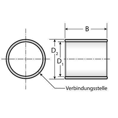 ohne Bund 1 Gleitlager 9560 95 x 100 x 60 mm wartungsfrei